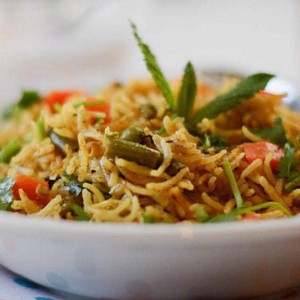 kaikari-Biryani-Chettinad-Vegetable-Biryani