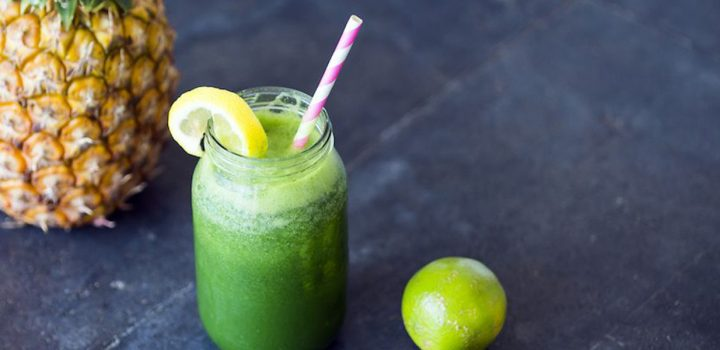 Spinach & Pineapple Juice